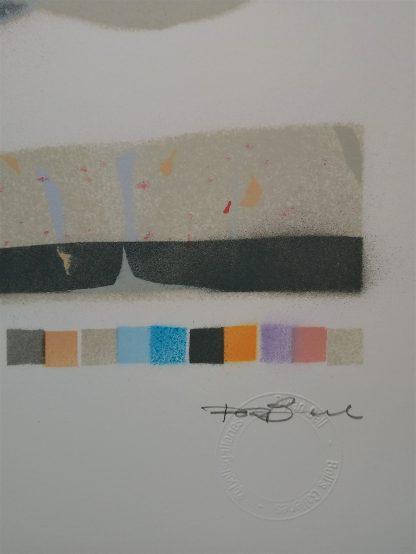 shows signature and colour register
